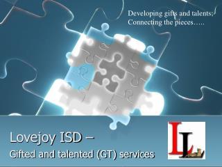 Lovejoy ISD –