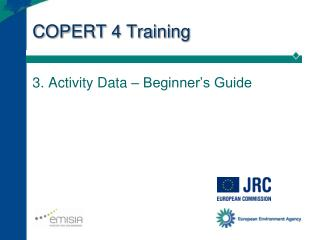 COPERT 4 Training