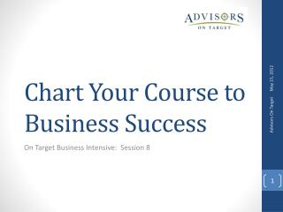 Chart Your Course to Business Success