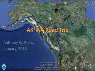 AK 2 WA Road Trip