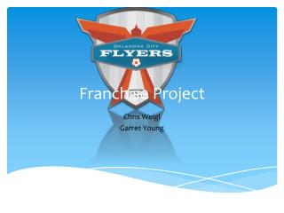 Franchise Project