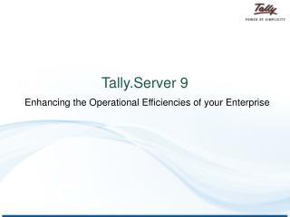 Tally.Server 9