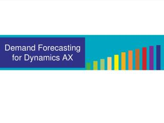 Demand Forecasting for Dynamics AX