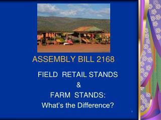 ASSEMBLY BILL 2168