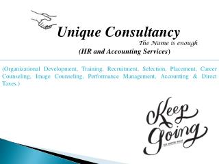 Unique Consultancy The Name is enough