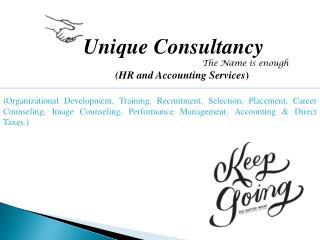 Unique Consultancy The Name is enough