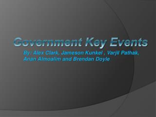 By:  Alex Clark, Jameson Kunkel ,  Varjil Pathak , Anan  Almoalim and Brendan  Doyle