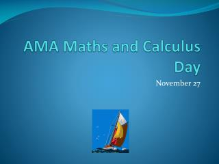 AMA Maths and Calculus Day
