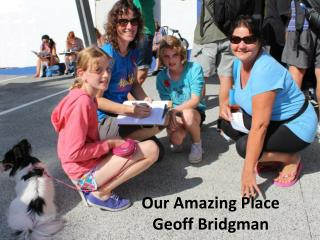 Our  Amazing Place Geoff Bridgman