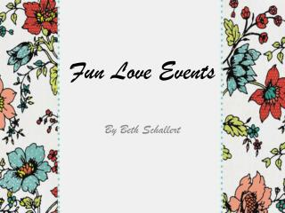 Fun Love Events
