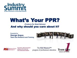 What's Your PPR? (Products Per Retail Delivery) And why should you care about it?
