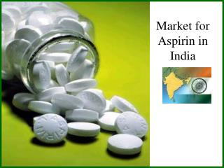Market for Aspirin in India