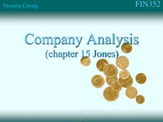 Company Analysis (chapter  15 Jones)