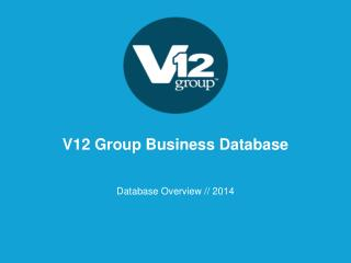 V12 Group Business Database