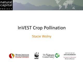 InVEST Crop Pollination