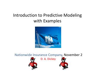 Introduction to Predictive Modeling with Examples