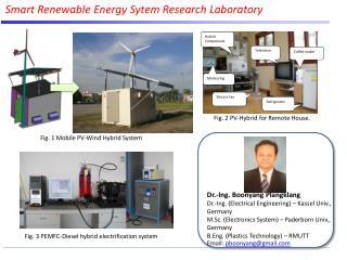 Smart Renewable Energy  Sytem  Research Laboratory