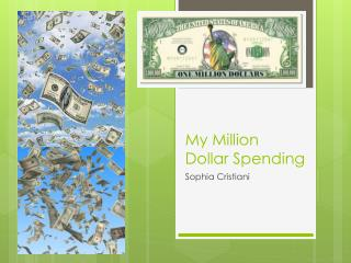 My Million Dollar Spending
