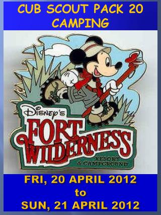 FRI,  20 APRIL 2012 to SUN,  21  APRIL 2012
