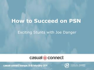 How to Succeed on PSN