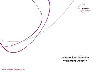 Wouter Schuitemaker Investment Director