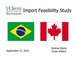 Import Feasibility Study