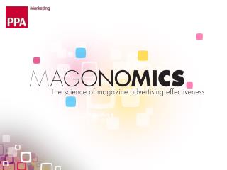 Magazines &  Brand Metrics