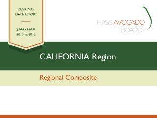 CALIFORNIA Region