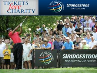 World Golf Championships® - Bridgestone Invitational  Fantastic field and amazing location