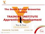 the south african breweries limited