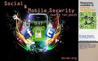 Ernest Staats erstaats@gcasda.org Technology Director MS Information Assurance, CISSP,  CEH, CWNA, Security+, MCSE, CNA