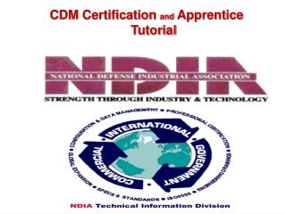 cdm certification and