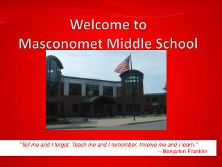 Welcome to  Masconomet  Middle School