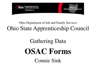 ohio department of job and family services ohio state ...