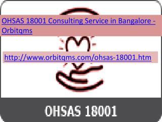 ohsas consulting service in bangalore