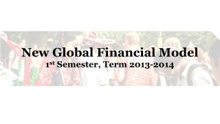 New Global Financial Model