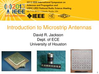 Introduction to Microstrip  Antennas
