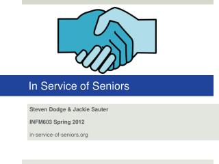 In Service of Seniors