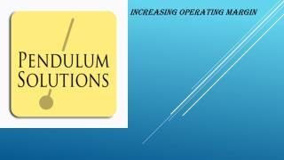 Increasing operating Margin