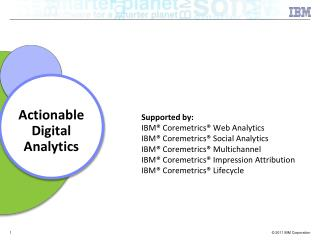 Actionable Digital Analytics