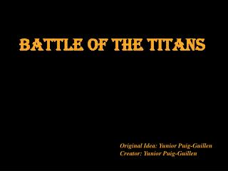 Battle of the titans