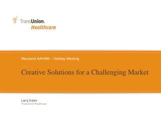 Maryland AAHAM – Holiday Meeting