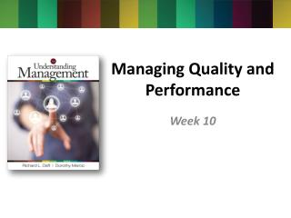Managing Quality and Performance