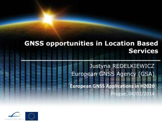 GNSS opportunities in Location Based Services