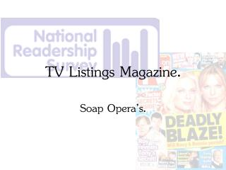TV Listings Magazine.