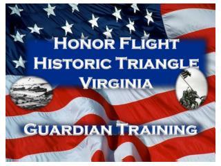 Honor Flight Historic Triangle Virginia