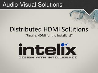 Audio-Visual Solutions