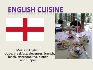 English  cuisine