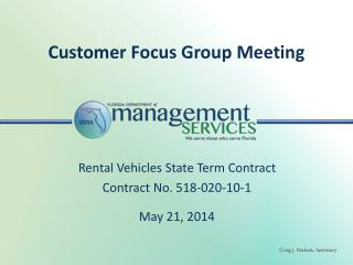 Customer Focus Group Meeting