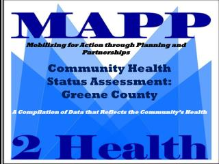 Community Health  Status Assessment: Greene County